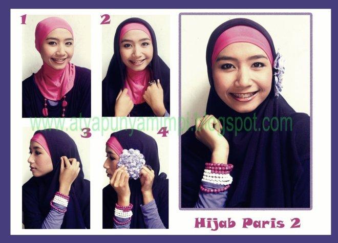 tutorial hijab 2012